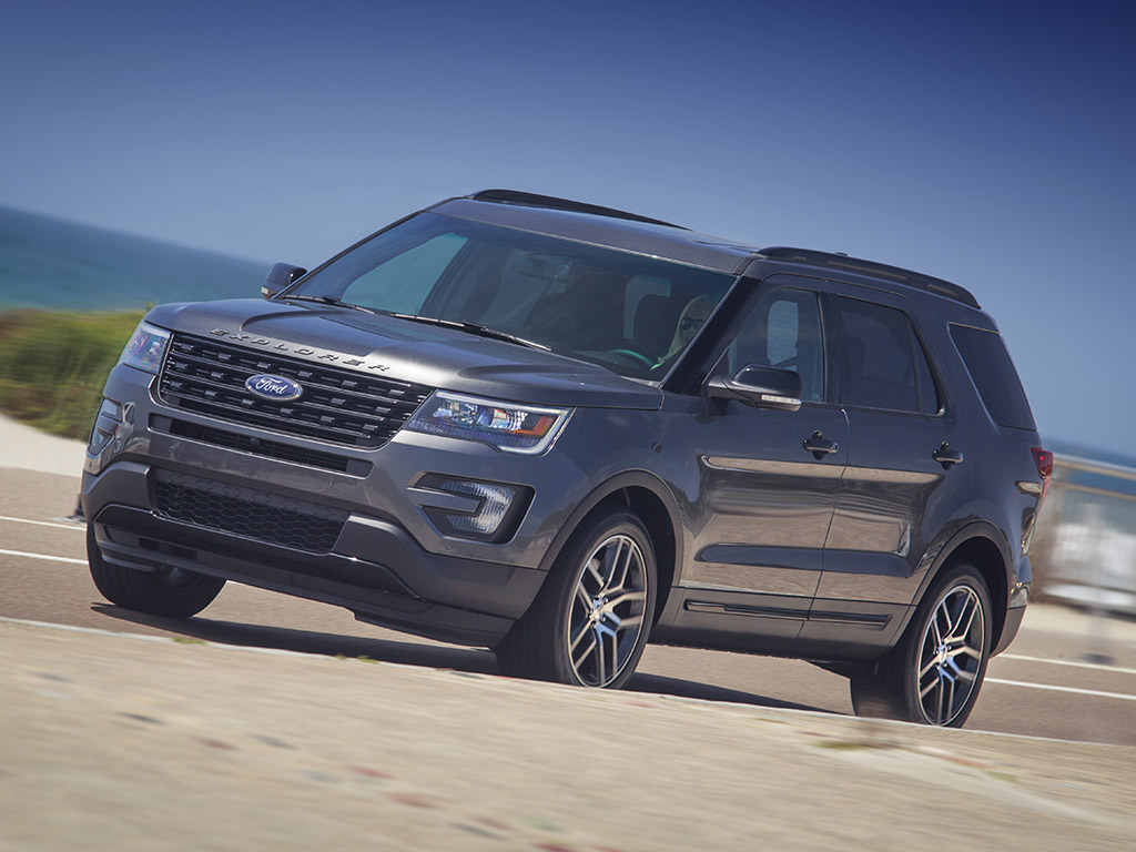 New Study Finds Ford Explorer Sport Popular Among Affluent Gen-Xers
