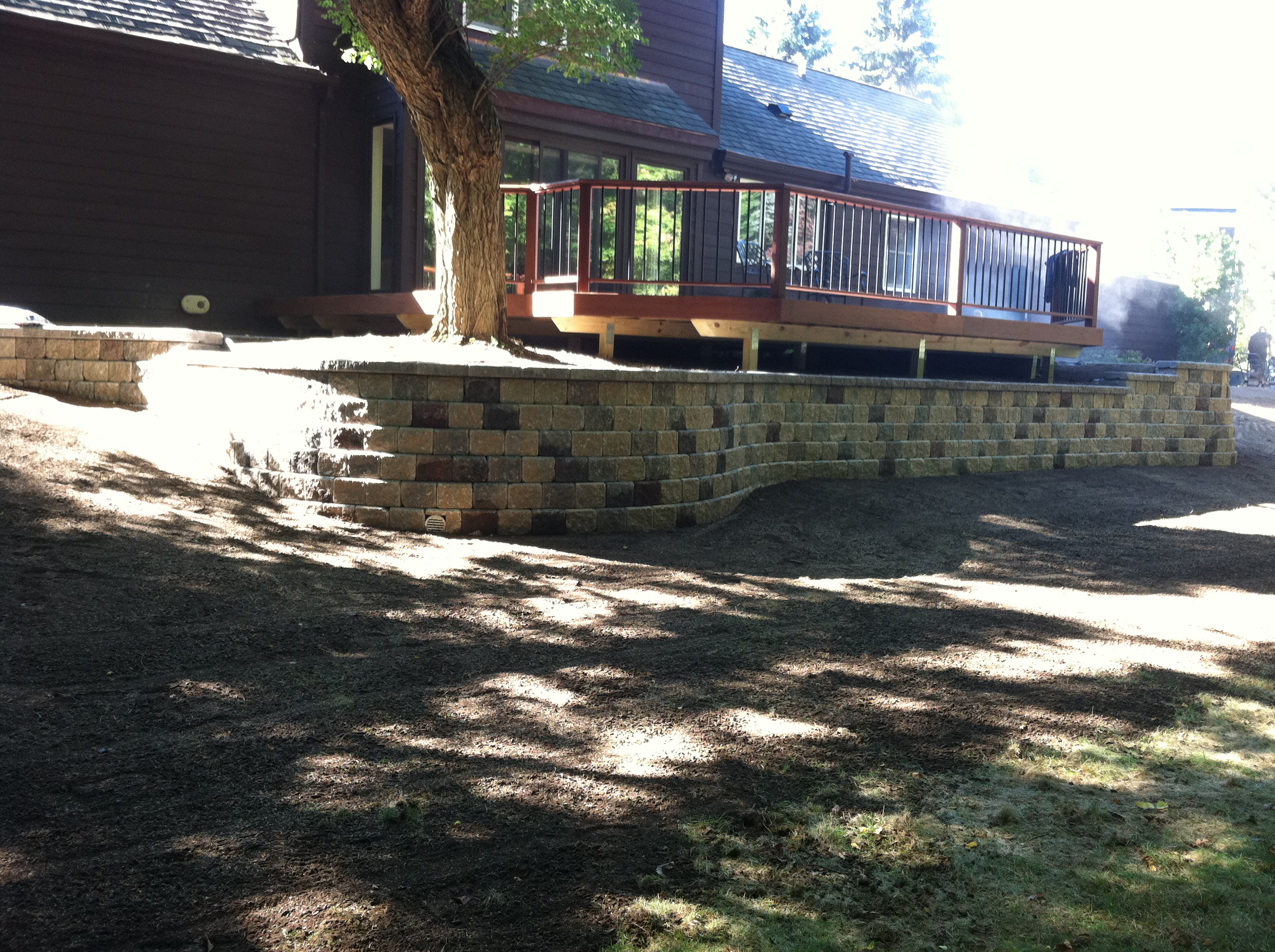 Custom Retaining Wall