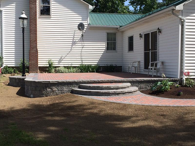 a custom brick paving wny
