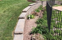 Swimming Pool Retaining Wall WNY
