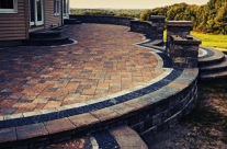 Custom Brick Paving in WNY