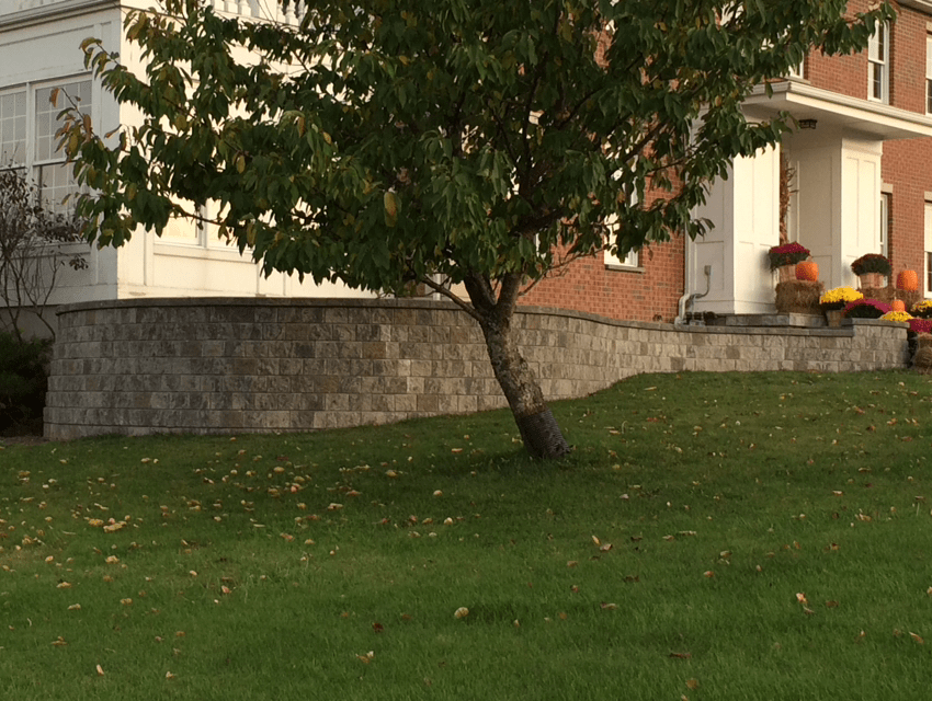 Custom Retaining Wall Erie County