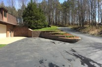 Custom Erie County Retaining Wall