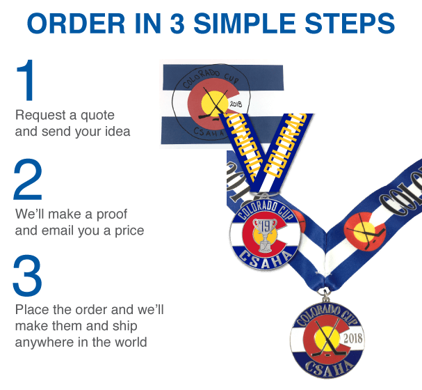 Order Custom Awards Medals