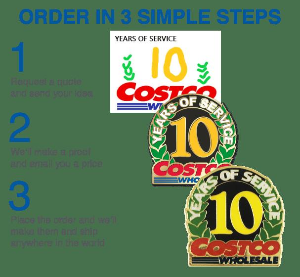Order Company Pins