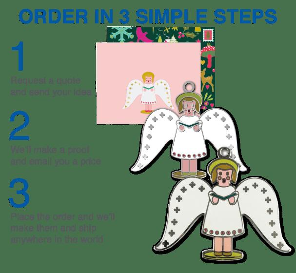 Order Custom ornaments