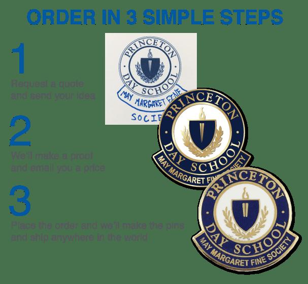 Order School Pins