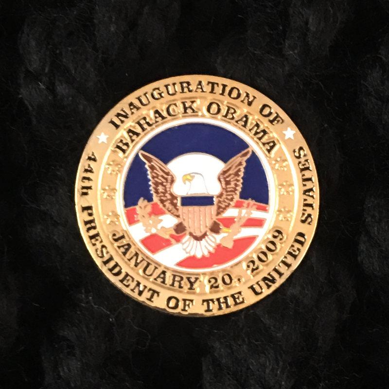 Obama Inauguration Pin
