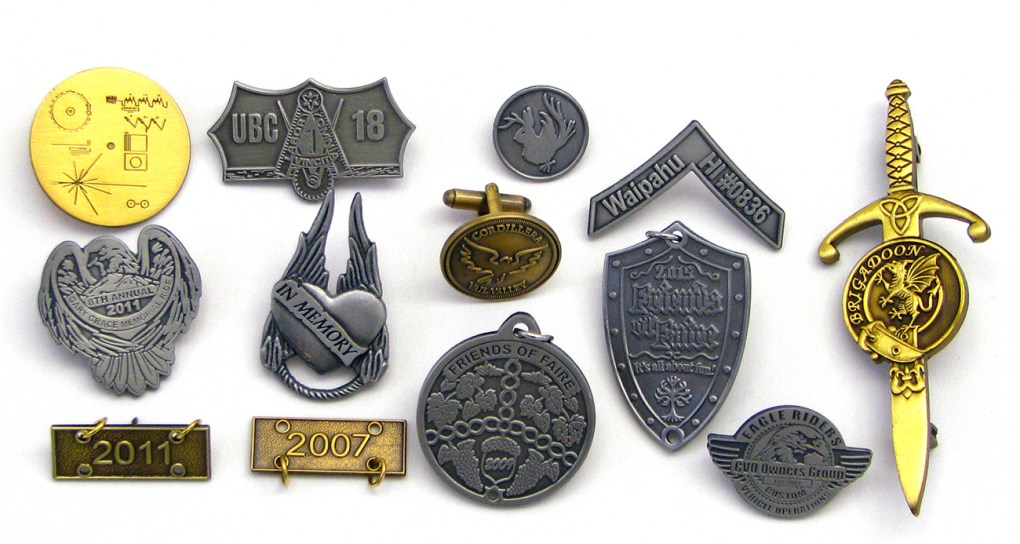 Antique Style Pins