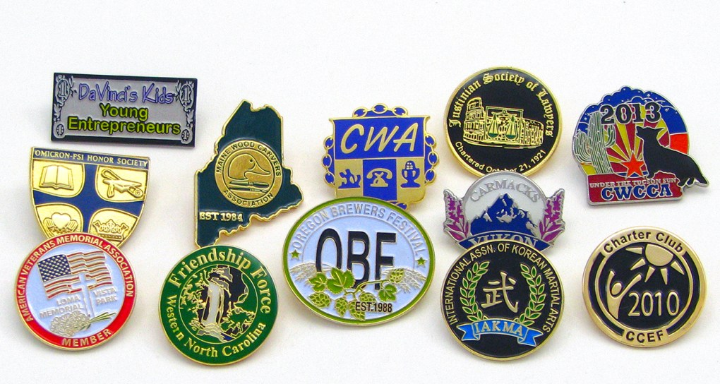 Order Custom Pins for Masons, Lodges, Lions, Kiwanis, Elks