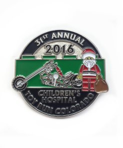 2016 Toy Run Pin