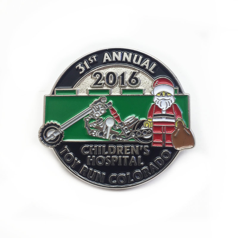 2016 Toy Run Pin