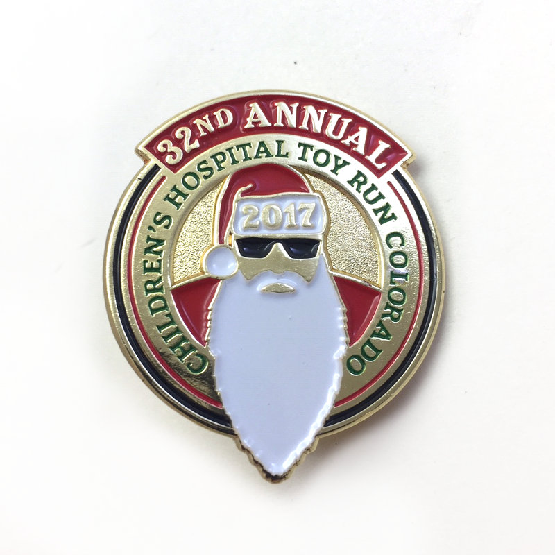 2017 Toy Run Pin