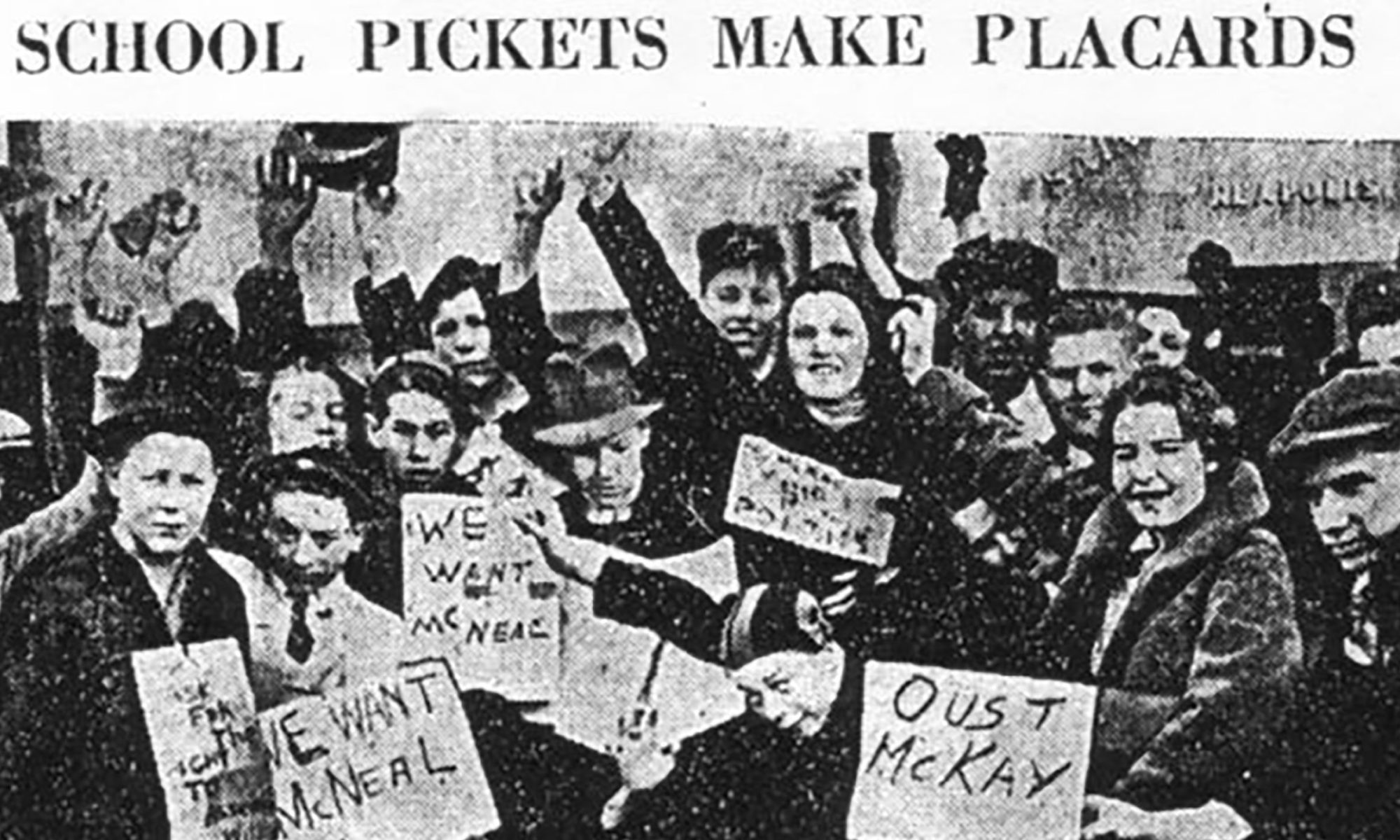 SLP Strike newspaper image