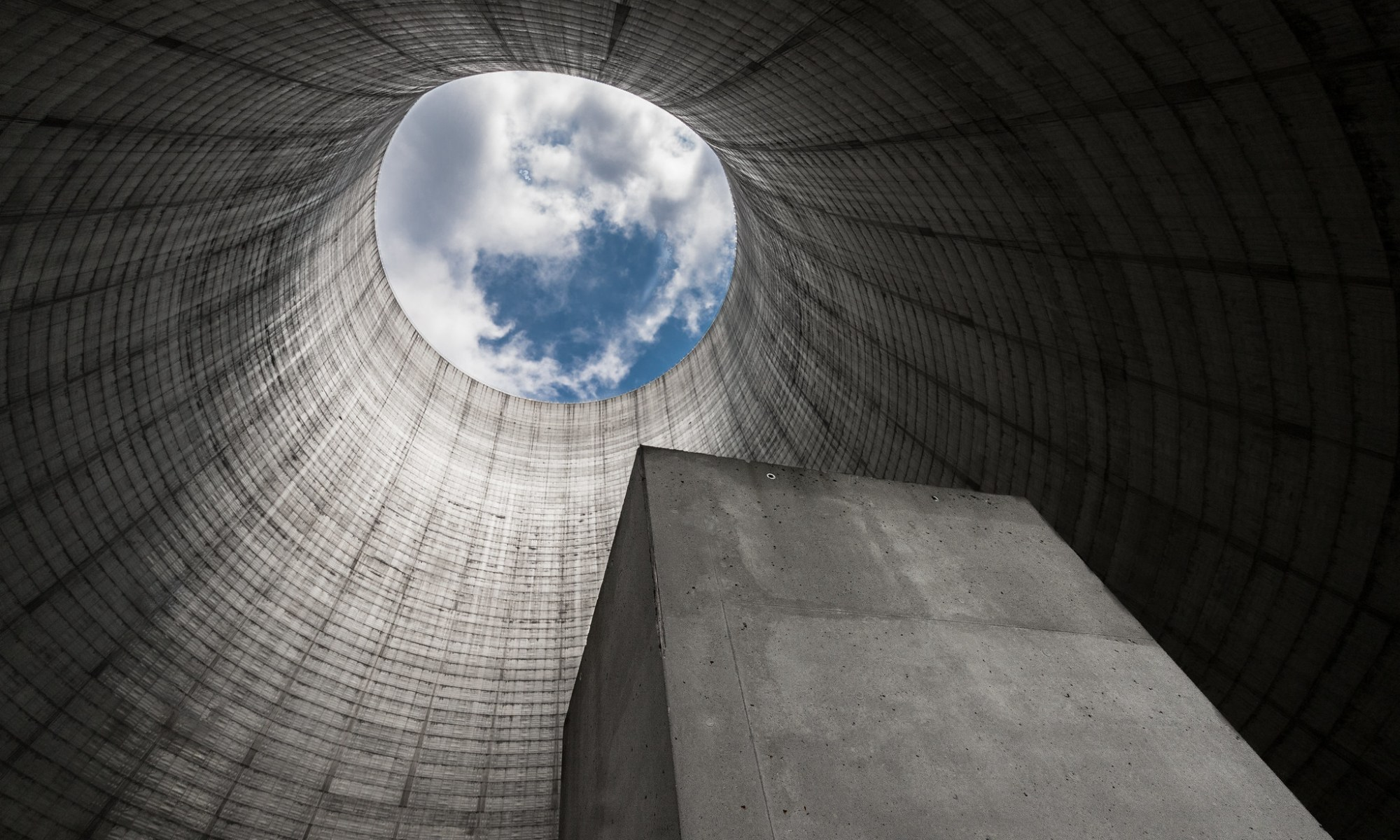 Nuclear Power Plant Cooling Tower photo image