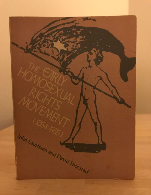Early Homosexual Rights Movement cover image