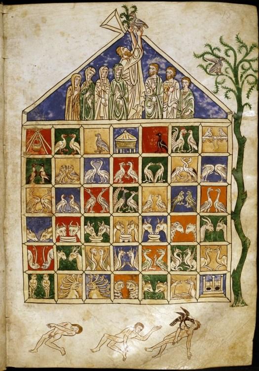 Noah's Ark from Rylands Beatus
