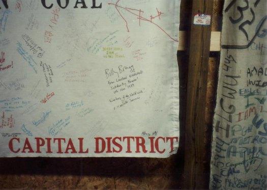 Billy Bragg Signature