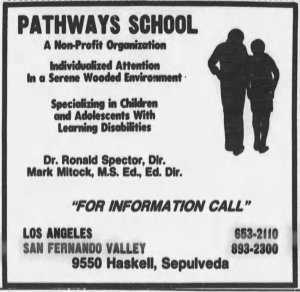 Pathways School ad