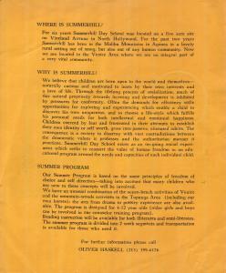 Summerhill Flier 1974–75