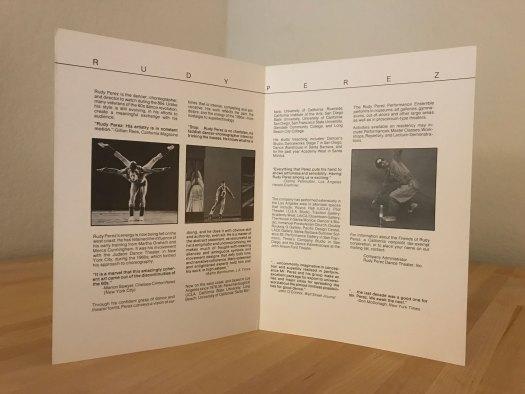 Rudy Perez Brochure