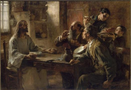 Léon Lhermitte Supper at Emmaus