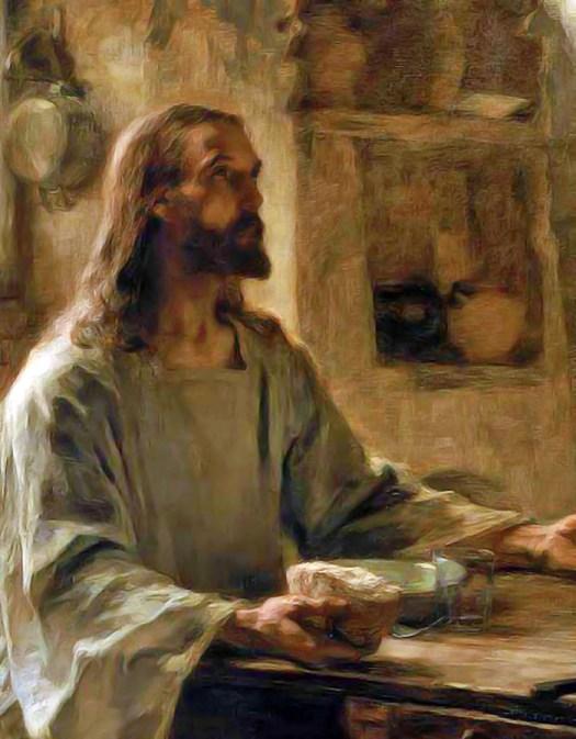 Léon Lhermitte Supper at Emmaus (detail)
