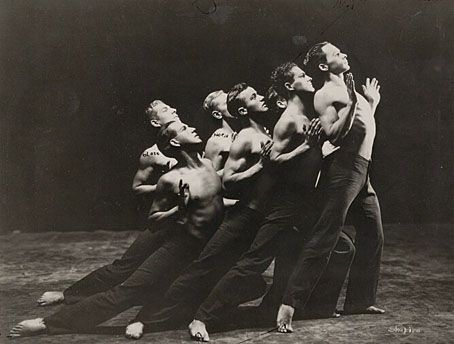 Ted Shawn and His Men Dancers