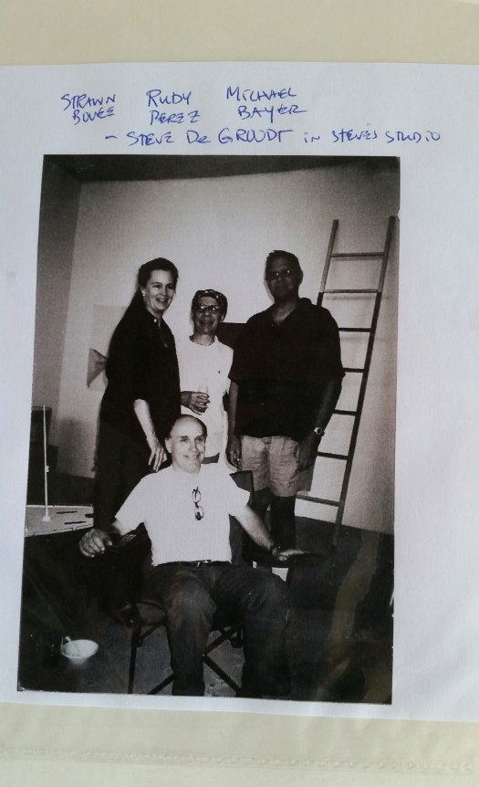 DKC collaborators' party Steve DG studio LA