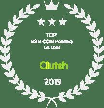 TOP B2B - Clutch 2019