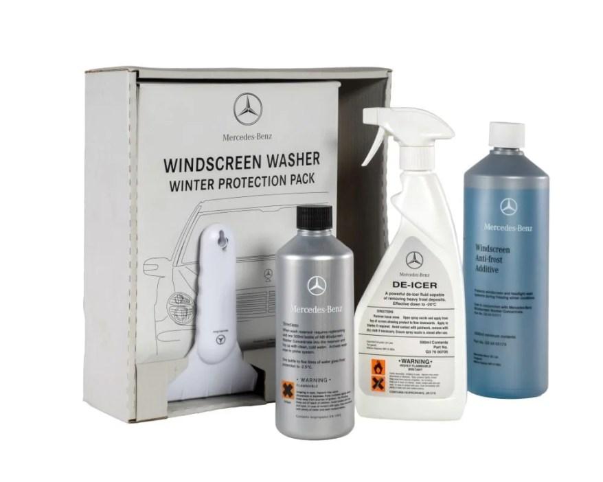 mercedes bend screenwash kit