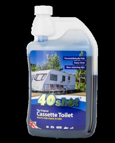 40shot cassette toilet dispensing bottle product