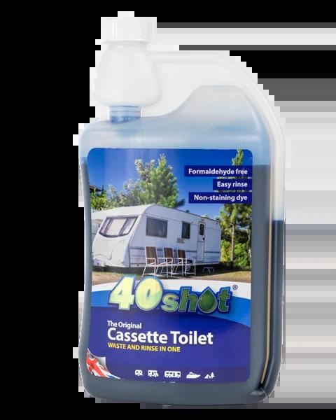 40shot cassette toilet