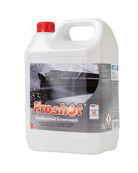proshot red professional screenwash