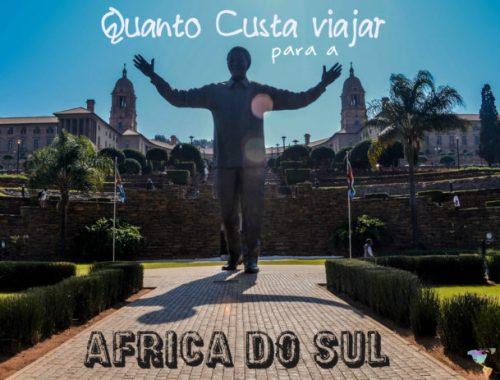 Quanto custa viajar para a África do Sul