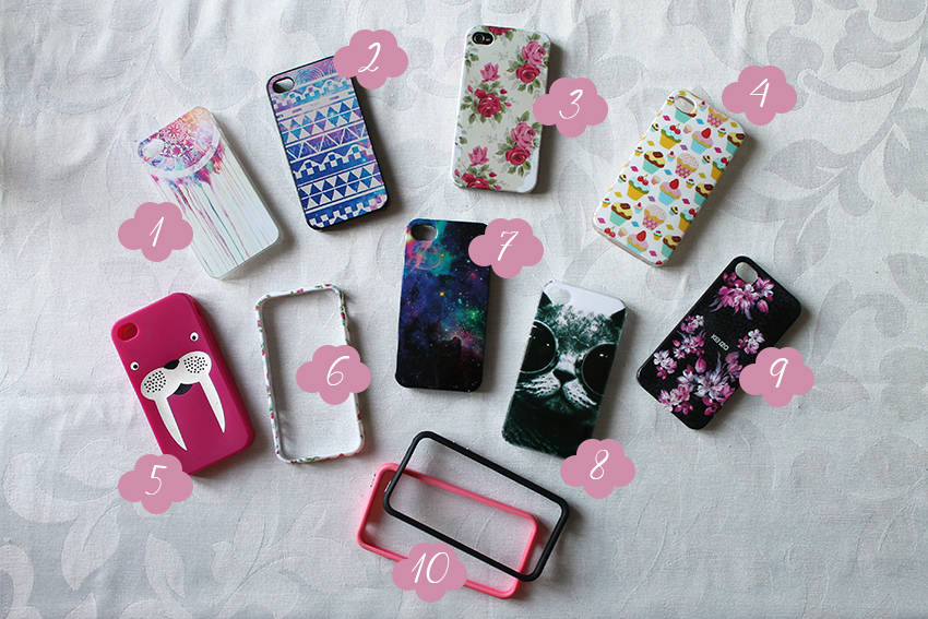 Mes coques iPhone 4