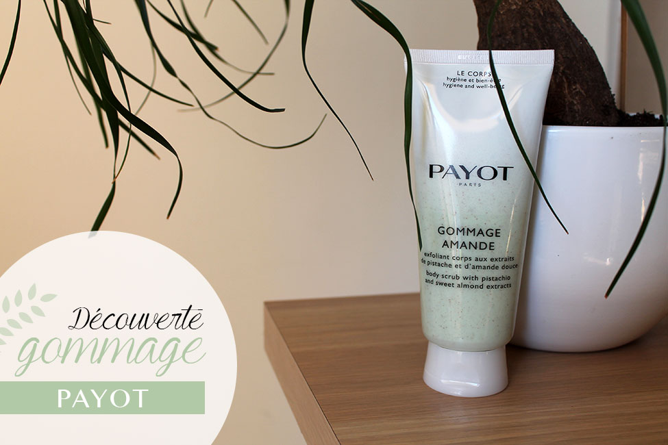 gommage amande payot packaging