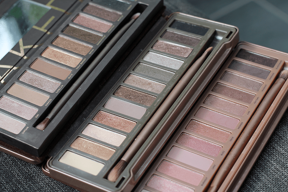 Palettes Naked Urban Decay 1 2 3 Swatches Avis Quand