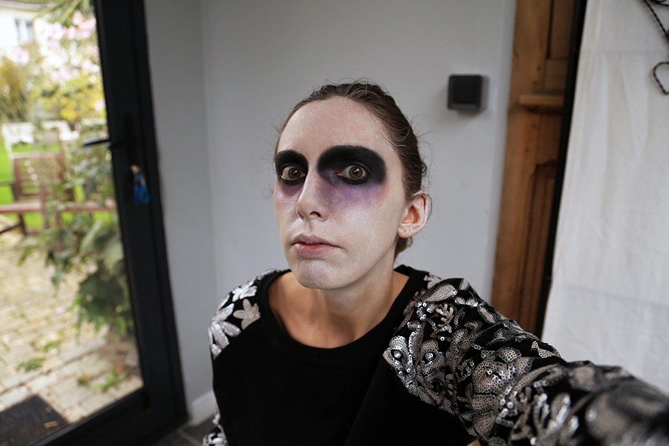 Maquillage pour Halloween, tuto simple
