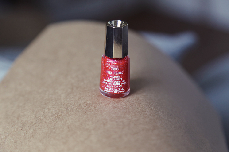 vernis collection cosmic mavala red