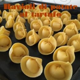 ravioli di patate al tartufo
