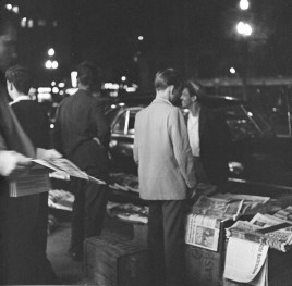 Venda de jornais - 1960