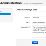 Create knowledge base