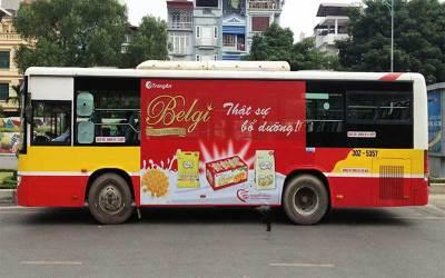 Báo giá quảng cáo xe Bus tại Hà nội