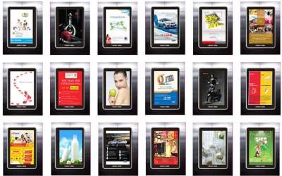 Báo giá quảng cáo Frame thang máy tại TP.HCM