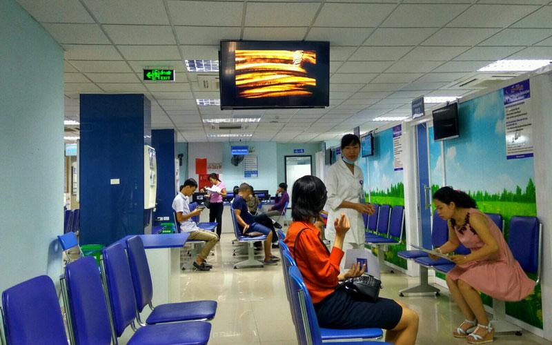 Dịch vụ quảng cáo trong bệnh viện-Những lợi ích từ quảng cáo LCD trong bệnh viện