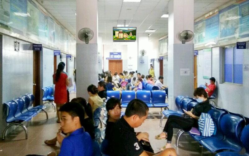Màn hình quảng cáo LCD trong bệnh viện-Kenh quảng cáo LCD toàn quốc