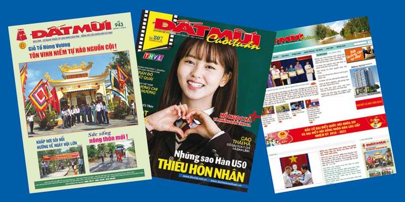 Bảng giá quảng cáo trên tạp chí Đất Mũi – Kênh quảng cáo báo, tạp chí