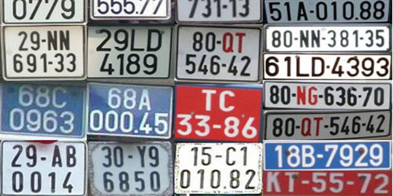 Tra cứu thông tin chủ xe qua biển số xe