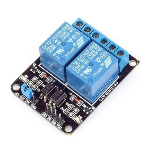 module relay 2 kênh arduino
